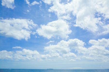 summer sky Standard-Bild