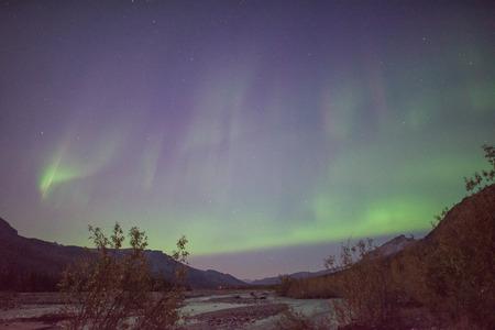 brooks: Aurora borealis in Brooks Range