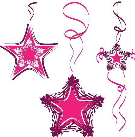 Decorative star, abstract stars Stock Vector - 11242174