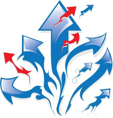 move arrow icon: Set of arrows