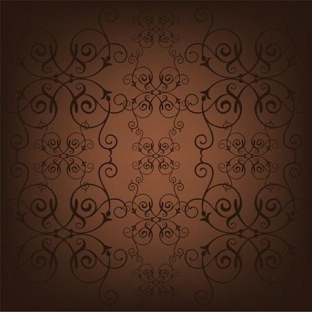 seamless vector background vintage Çizim