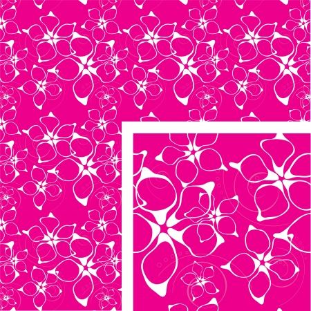 textile image: Floral seamless background