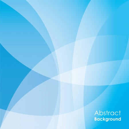 page borders: Abstract blue background Illustration