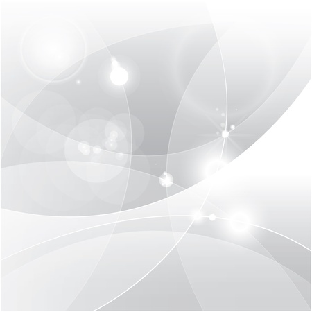 abstrato: Prata abstrato vector Ilustração