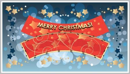facia: greetings Template Merry Christmas