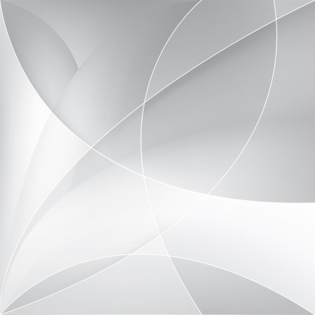 gray line: Abstract silver background, vector template