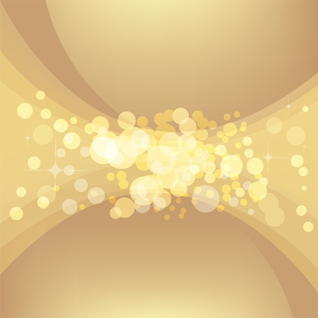 Abstract gold background Stock Vector - 17045490