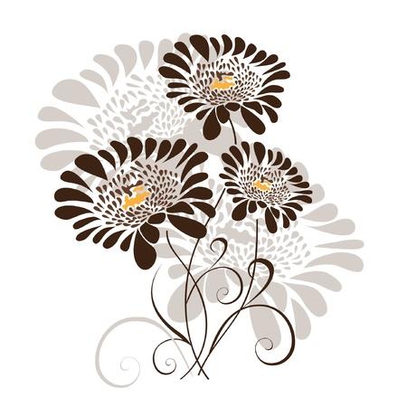 crisantemos: dise�o floral