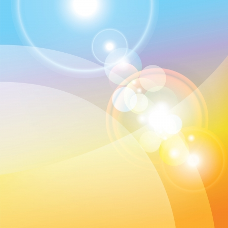 Colorful abstract background, lenses flare effect  photo