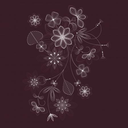 Floral design Stock Vector - 18818052