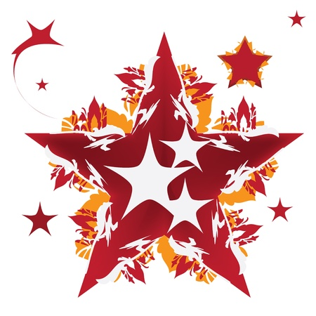 Star design illustration Stock Vector - 18818054