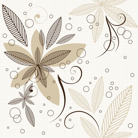 Floral seamless pattern Stock Vector - 19482059