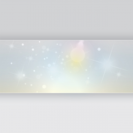 booster: abstract background, vector template, glow and stars Stock Photo