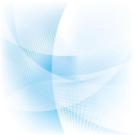 抽象的な光の背景、青いベクトル イラスト  イラスト・ベクター素材