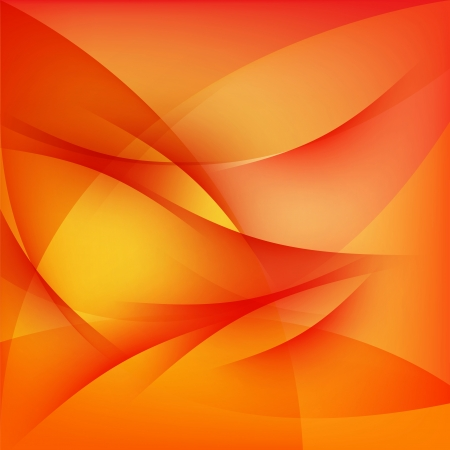 curved lines: Red abstract background, curved lines pattern texture Illustration
