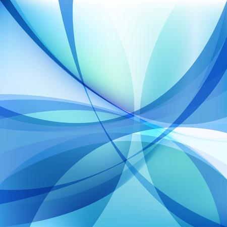 Abstract light blue background with twist lines, wavy element Иллюстрация