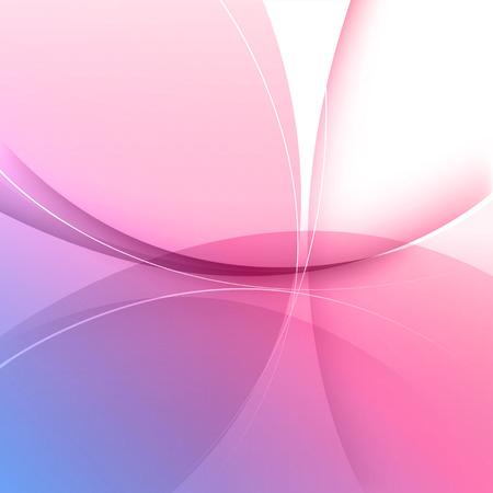 flowers: Fondo rosado abstracto, ilustración