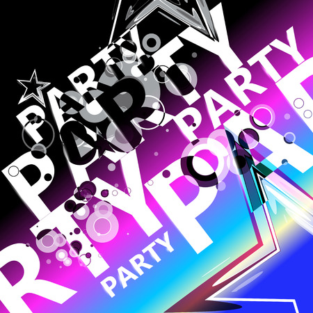 party background: Party background Illustration