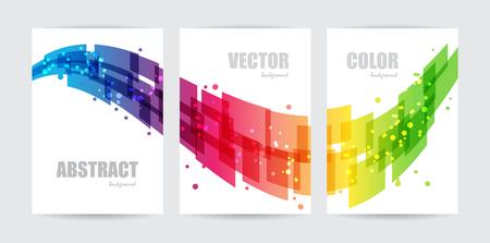 Abstrakte Technologie, setzen Business-Template, Design Welle, Hintergrund