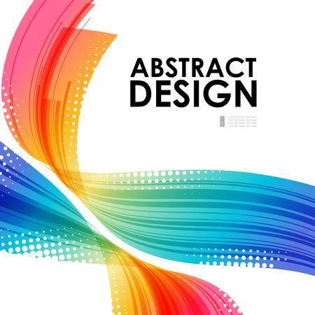 抽象的な技術背景、ビジネス テンプレート
