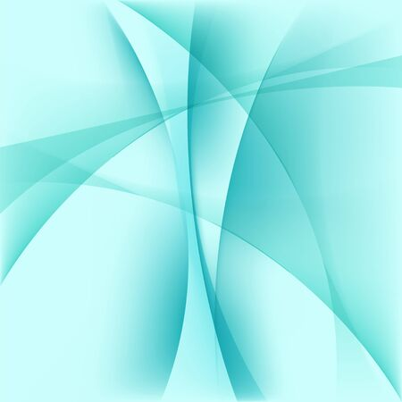 smoothness: Abstract light blue background, curve smooth shapes, vector illustration Illustration