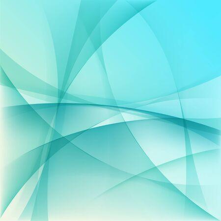 水色の抽象的な背景  イラスト・ベクター素材