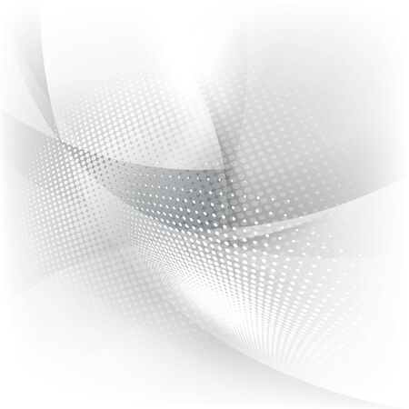 white background abstract: Abstract gray and white background with halftone Stock Photo