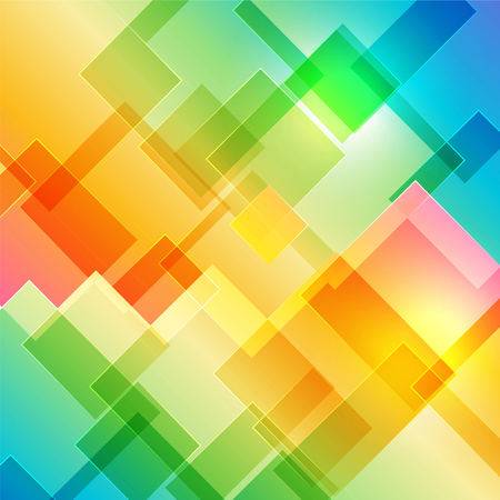 Multicolored cover background with geometric shape Illustration