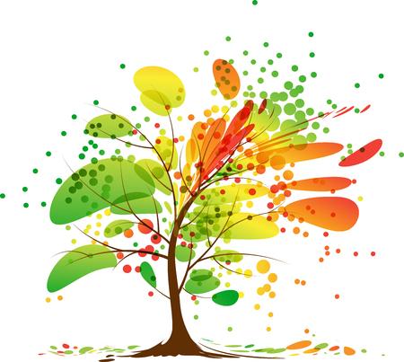 Mooie herfstboom