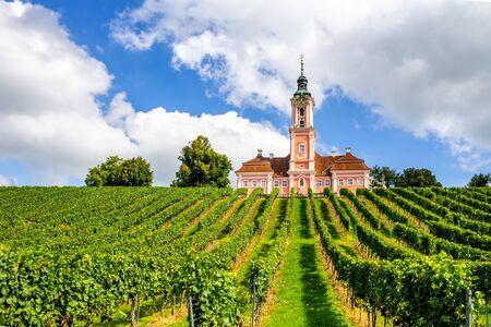 Birnau pilgrimage church, Lake Constance, Germany