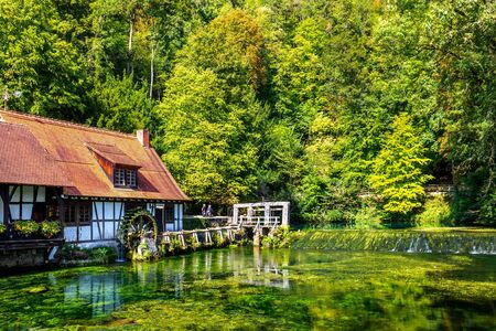 Blautopf, Blaubeuren, Germany