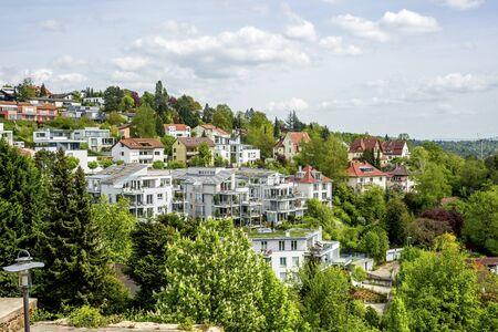 View over Esslingen, Neckar, Germany Imagens