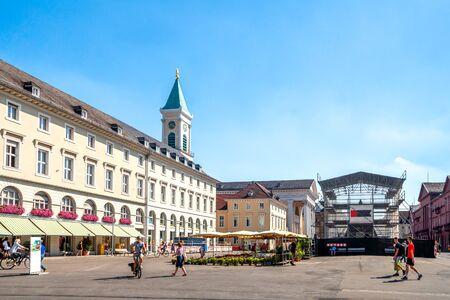 Market, Karlsruhe, Germany