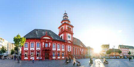 City hall, Mannheim, Germany