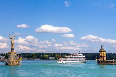 Ship, Marina, Constance, Germany