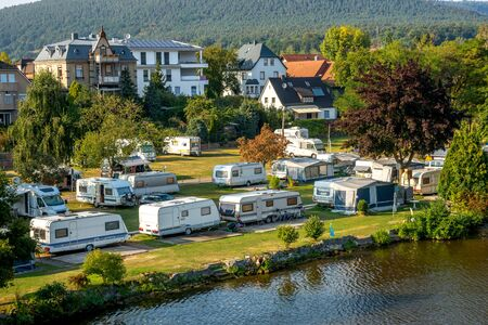 Camping, Miltenberg, Germany