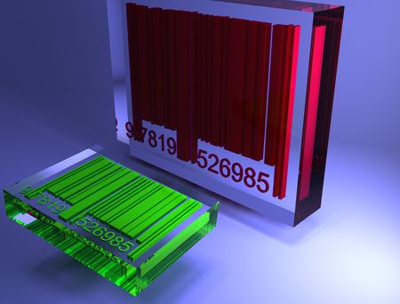 codigos de barra: códigos de barras 3D