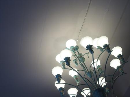 lamp light: Light and lamp Stock Photo
