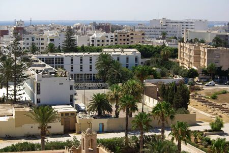 Types of Monastir in Tunisia, Africa in summer day Stock Photo - 16781421