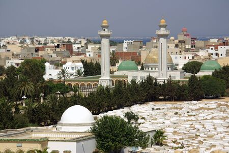 Types of Monastir in Tunisia, Africa in summer day Stock Photo - 16779755