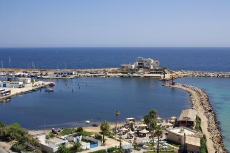 Mediterranean coast in Monastir, Tunisia in Africa Stock Photo - 16781408