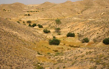 matmata: Lunar landscape in the vicinity of Matmata, Tunisia, Africa