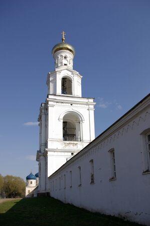 novgorod: St`George monastery, Novgorod, Russia