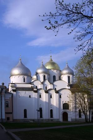 St. Sophia Cathedral. Kremlin Detinets. Veliky Novgorod. Russia  photo