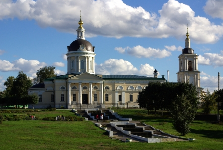 Cathedral of the Archangel Michael in the city of Kolomna, Russia Stock Photo