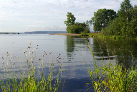 onega: The Republic of Karelia. Shore of Lake Onega