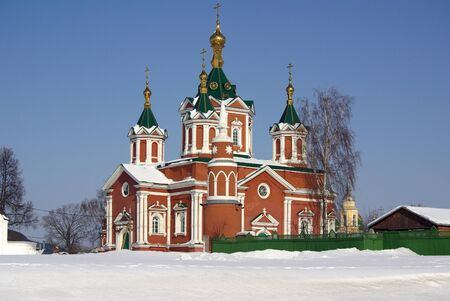 Uspensky Brusensky monastery in the ancient Russian city of Kolomna