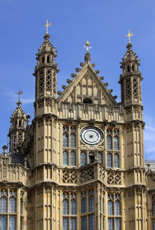 commons: Houses of Parliament in London, England on a sunny summer day