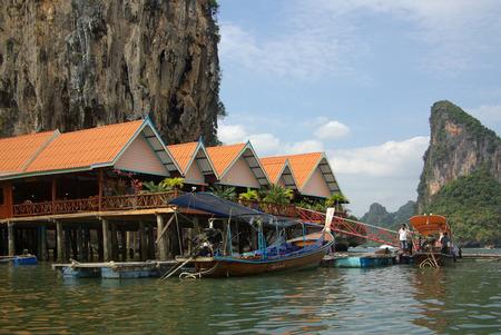 phang nga: Sea Gypsy village in Phang Nga, Thailand