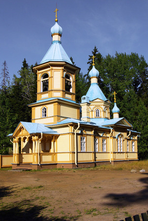 Monastery on Valaam in the Republic of Karelia, Russia photo